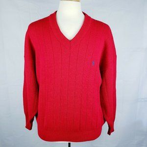 Ralph Lauren Vintage V-Neck Knitted Heavy Sweater